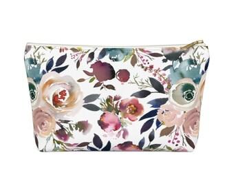 Makeup Bag: Floral Design