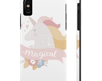 Unicorn Phone Case, Case Mate Tough Phone Cases, Custom Phone Cases, iPhone Case, Samsung Phone Case, Galaxy Case