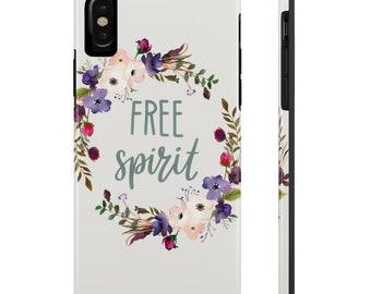 Free Spirit Phone Case, Case Mate Tough Phone Cases, Custom Phone Cases, iPhone Case, Samsung Phone Case, Galaxy Case