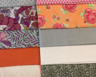 Cotton Fabric Scrap Pack Lot No. 7