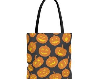 Trick or Treat Tote Bag: Pumpkins