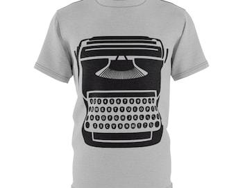 Typewriter - Unisex Aop Cut  Sew Tee
