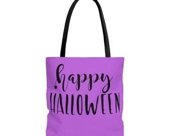 Trick or Treat Bag: Purple