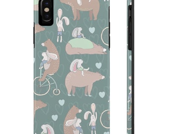 Forest Bear, Case Mate Tough Phone Cases