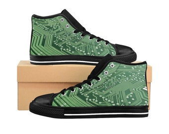 Green Technology, Mens HighTop Sneakers