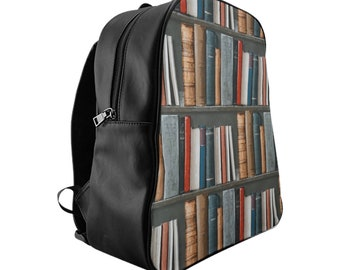 Bookshelf School Backpack