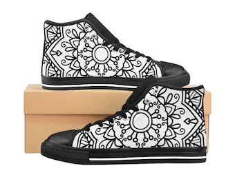 Colorable Womens HighTop Sneakers
