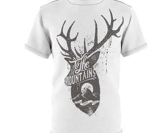 To The Mountains - Unisex Aop Cut  Sew Tee