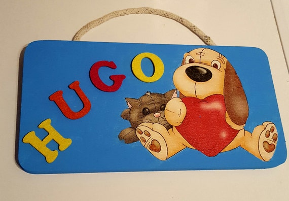 Personalized name door plaque