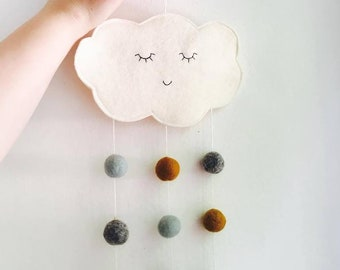 Miss Cloud Babymobile - woolfelt