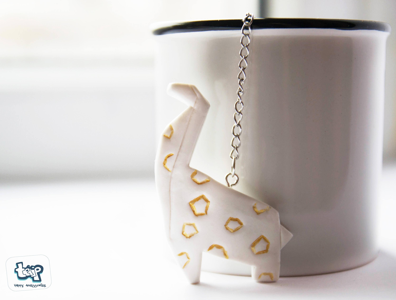Origami giraffe-Tea infuser-Tea accessories-Cute tea | Etsy - photo#2