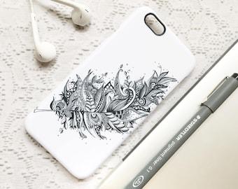SALE! Boho Phone Case, iPhone 6 Case, iPhone 7 Case, Monochrome Phone Case, iPhone 7 Plus Case, Samsung Galaxy S7 Case, iPhone 6 Plus