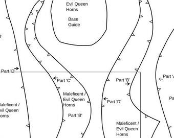 Maleficent Pattern Etsy