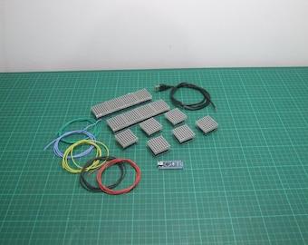 Protogen LED display matrix and arduino Kit - build your own DIY light