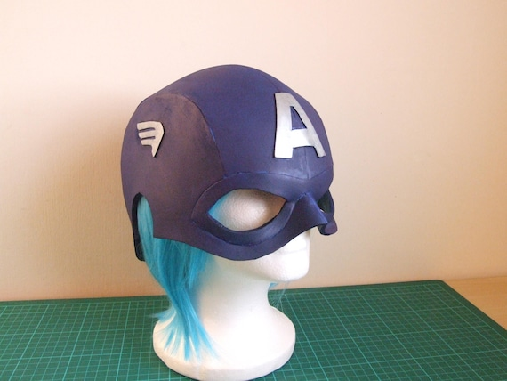 Foam Template For Captain America Helmet Make Your Own Etsy