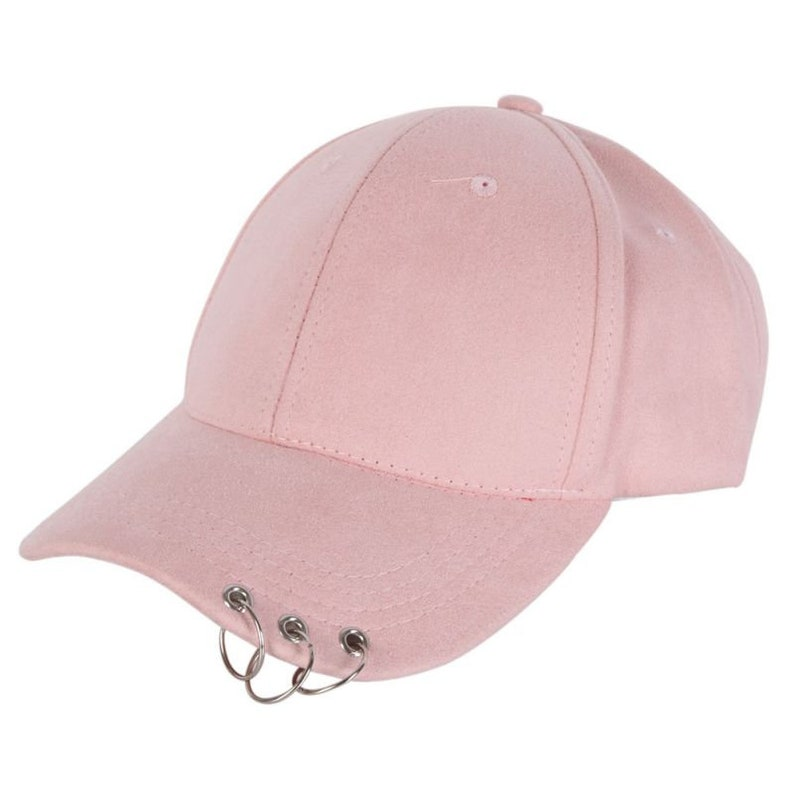Baseball hat with ring baseball cap. ring hat for woman or  12d37c0598d