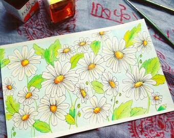 Daisy Patch ~ Original
