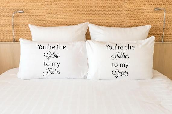 Calvin and Hobbes pillowcase set
