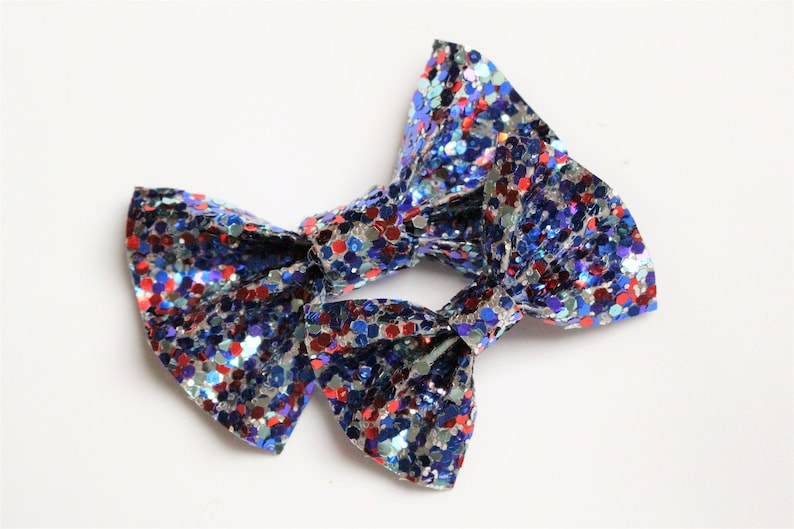 Cat Bow Tie July 4th