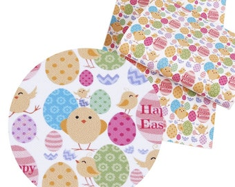 Easter Fine Glitter Faux Leather Sheets,Easter A4 Vinyl Fabric Sheet, 8x11 Faux Leather, DIY Hair Bows, Earrings DIY