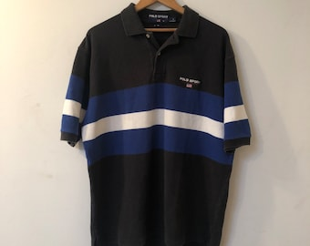 3ac7f923 Vintage Ralph Lauren Polo Sport striped polo shirt size L