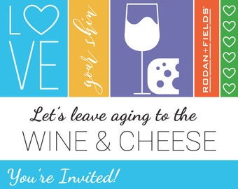 f1539bc1d3948 Rodan and Fields (Big Biz Launch) Wine   Cheese Party - Evite or Printable  Invite CUSTOMIZED DIGITAL FILE