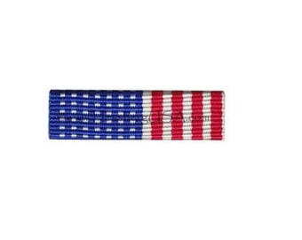 American Flag Ribbon Front Lapel Pin 5 Pack