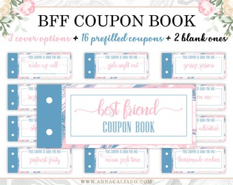 Dad S Coupon Book Printable Coupons Dad S Gift Etsy