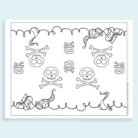 - Day Of The Dead Coloring Page For Kids Halloween Printable Etsy