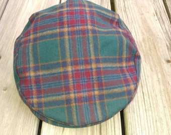 e71365f2224 Vintage Pendleton Newsboy Hat cap Wool men s size EXTRALARGE