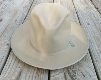 02045804e8a Vintage Stetson Open Road men s size 6 5 8