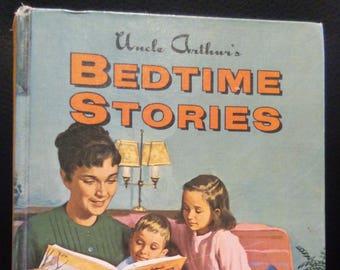 Uncle Arthur's Bedtime Stories 1964 Vol 2 - vintage childrens story book