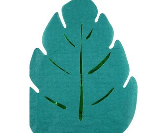 Leaf Napkins, Jungle Leaf Napkins, Jungle Party