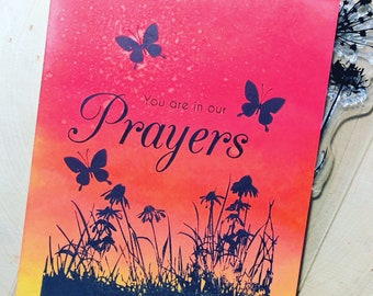 You are in our Prayers Card