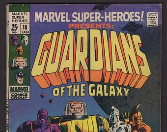 Marvel Super Heroes, 1969, vol 1, #18, VG- (3.5) - Guardians of the Galaxy