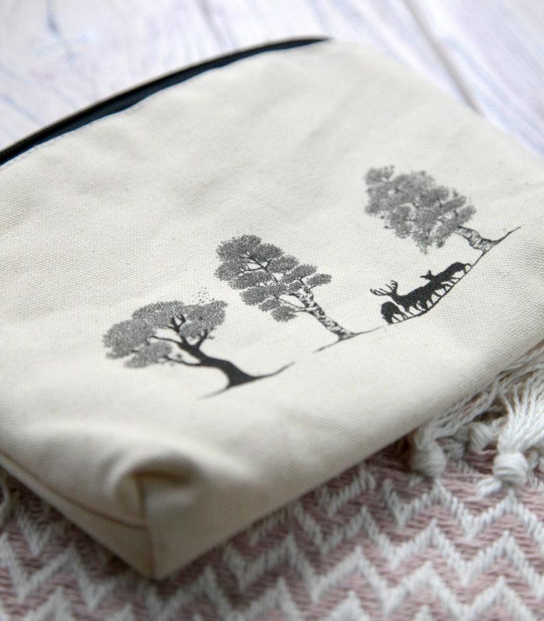 Deer Park Organic Cotton Zip Purse