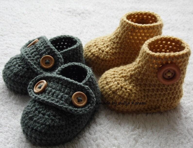 e68c71c3ce10e Baby boots booties crochet, handmade baby booties and shoes, crochet  newborn shoes, crochet baby booties, baby loafers, baby slippers