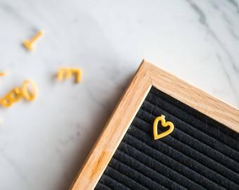 black felt letter board 12x18 etsy. Black Bedroom Furniture Sets. Home Design Ideas