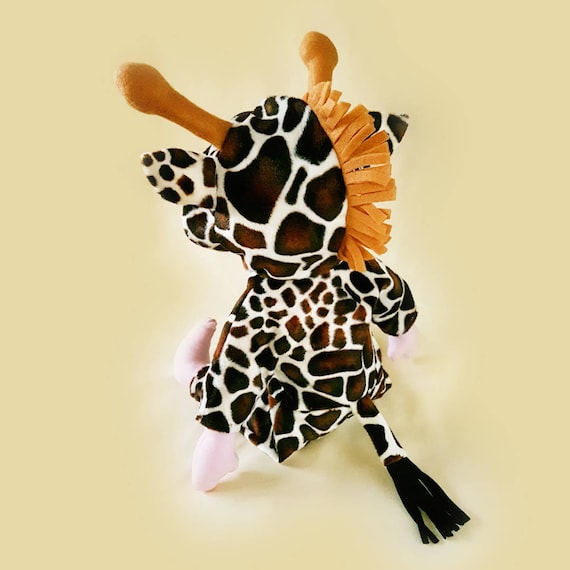 Stoffpuppe und Giraffe Kostüm niedlich digitale Schnittmuster | Etsy