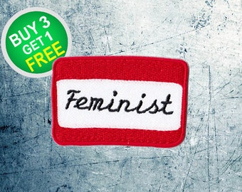 Feminist Patches Girl Power Patches Patch Iron On Patch Patches For Jackets
