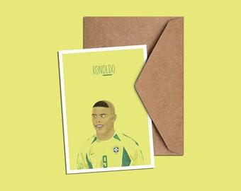 Ronaldo Birthday Card