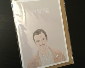 Agent Murphy Birthday Card