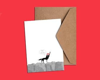 Mr. Wolf Christmas Card