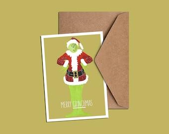 Merry 'Grinchmas' Christmas Card
