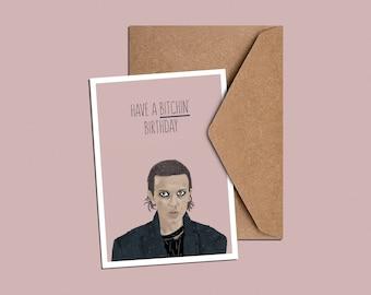 Bitchin' Birthday Card