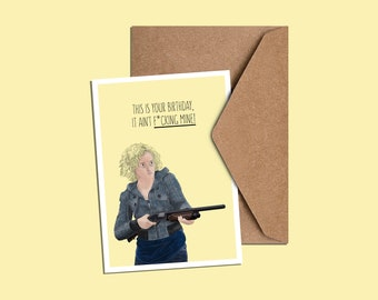 Ruth Langmore Birthday Card