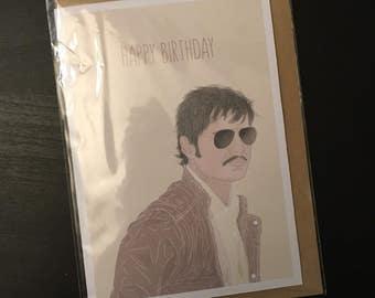 Agent Peña Birthday Card