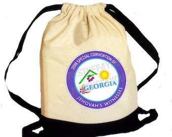 Georgia Special Convention 2018 Backpack Convention Bag  JW Special Convention Tote Be Courageous Convention JW Convention 2018 Pin JW Bag
