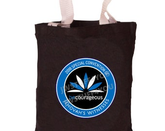 Be Courageous Special Convention Tote   Special Convention 2018 Bag   Special Convention Bag   JW Convention   Pin   JW Convention Gifts