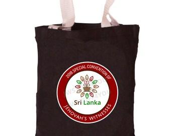 Sri Lanka Special Convention Bag   Sri Lanka Special Convention Tote   JW Convention Bag   Be Courageous   2018   JW Bags   Convention Gift